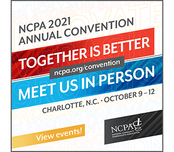 Booth at NCPA 2021 Annual Convention
