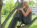me in a tree! :)