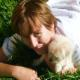 Me and my puppy Honey