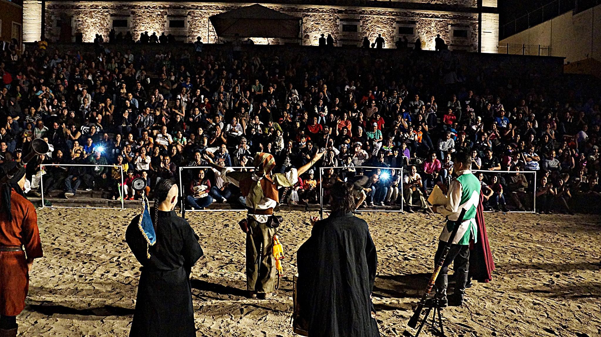 Alhondiga de Granaditas, sede del festival