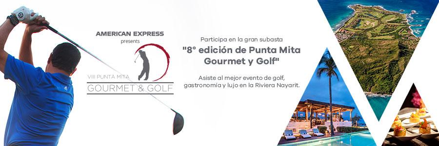 Asiste a la 8° edición de Punta Mita Gourmet y Golf