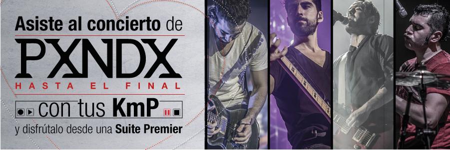 Asiste al concierto de PXNDX en la Arena Ciudad de México