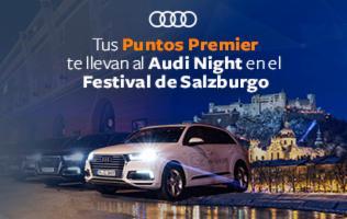 "Audi y Club Premier te llevan al Audi Night at ""Salzburg Festival"""