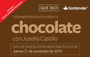 CATA DE CHOCOLATES QUEBO CON JOSÉ RAMÓN CASTILLO