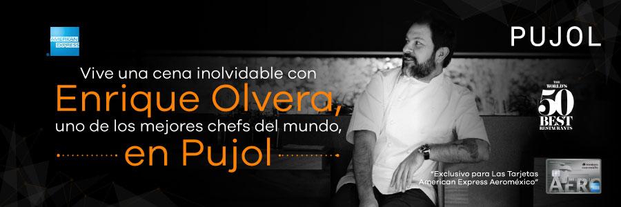 Cena con el chef Enrique Olvera en Pujol