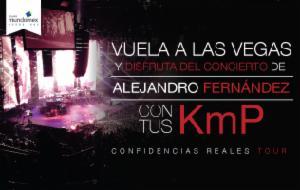 Concierto de Alejandro Fernández en Las Vegas