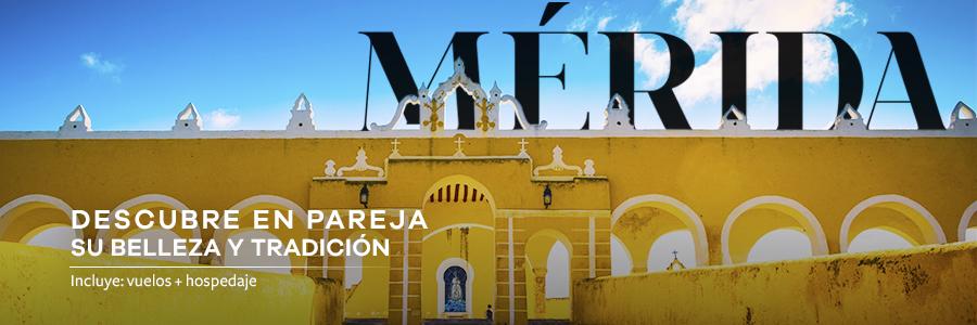 Conoce las maravillas de Mérida en un viaje doble
