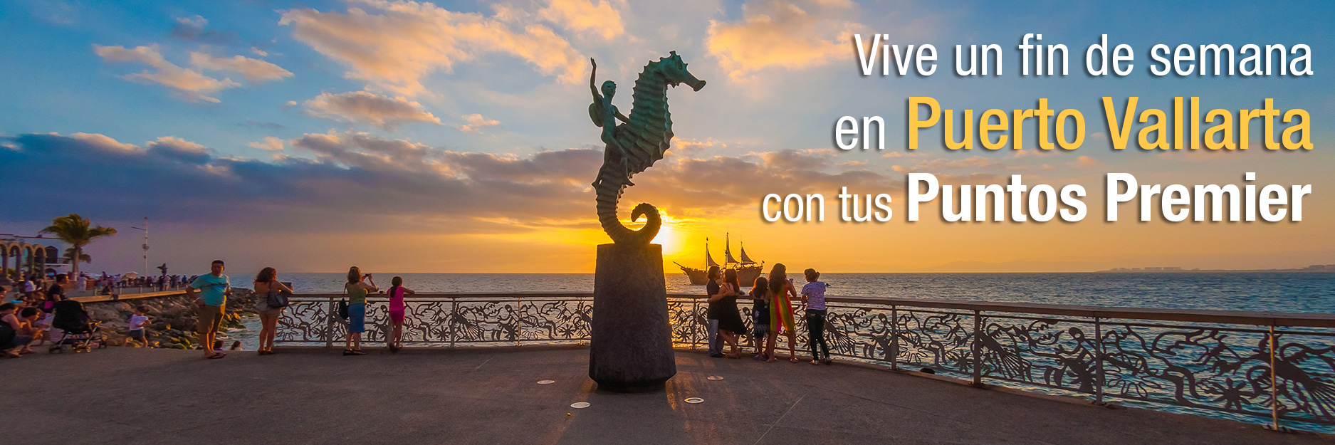 Descansa un fin de semana en Puerto Vallarta