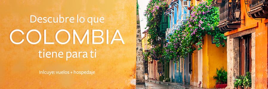 Descubre Colombia en un viaje doble