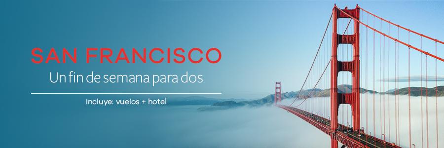 Descubre San Francisco en un fin de semana
