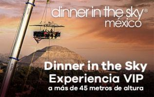 DINNER IN THE SKY - TEOTIHUACAN