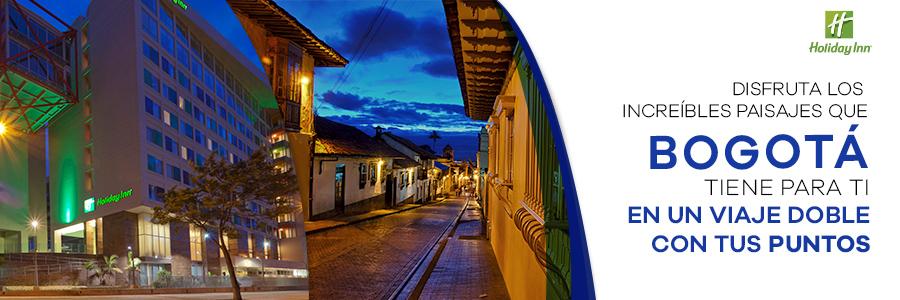 Disfruta de la hermosa ciudad de Bogotá con tus Puntos Premier