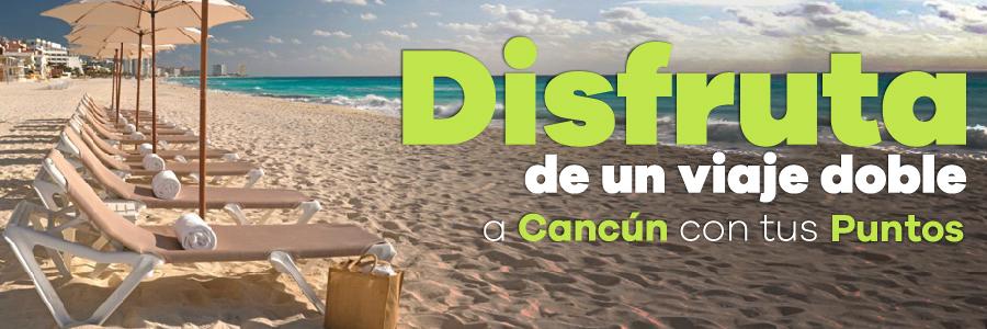 Disfruta del paraíso de Cancún en un viaje doble