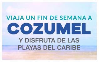 Disfruta del paraíso de Cozumel en un viaje doble