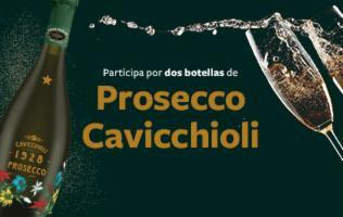 Disfruta dos botellas de Prosecco Cavicchioli