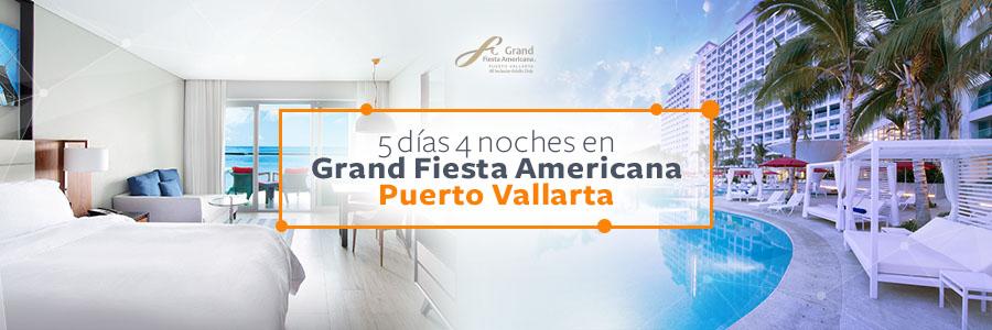 Disfruta la belleza de Puerto Vallarta 5 días y 4 noches