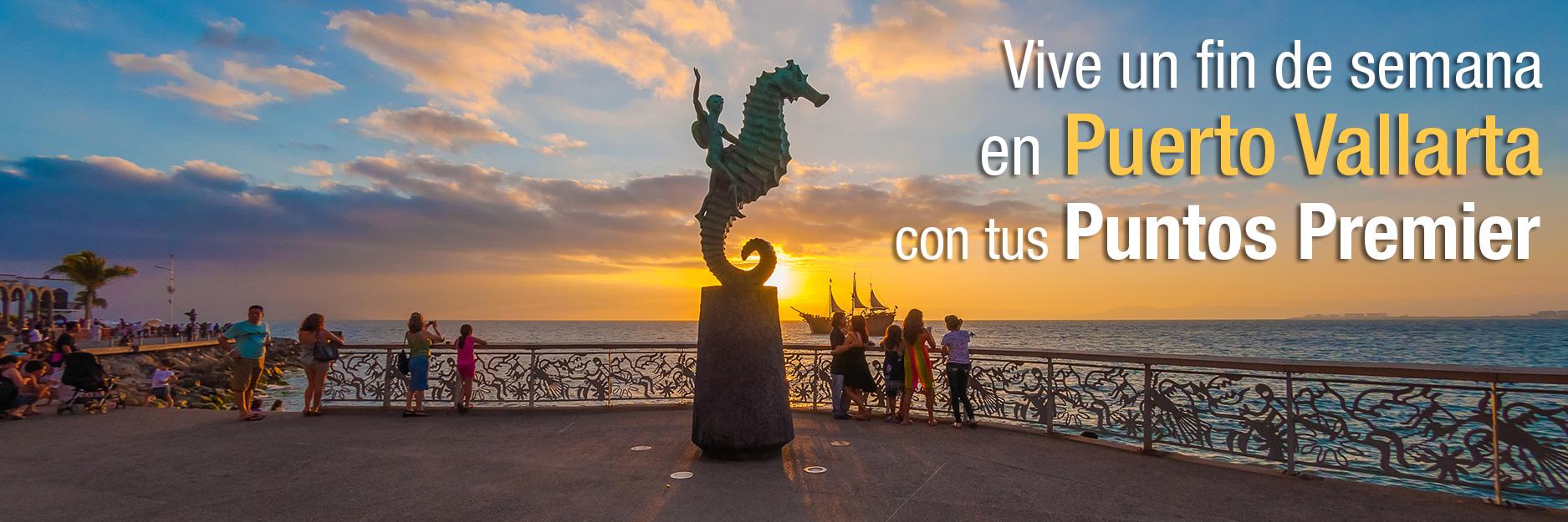Disfruta la belleza de Puerto Vallarta en un viaje doble