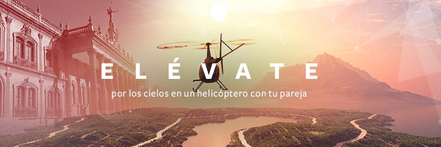 Elévate por los cielos, recorre Monterrey en Helicóptero