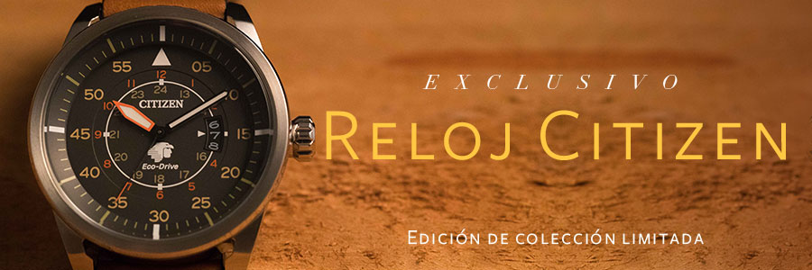 EXCLUSIVO RELOJ CITIZEN DE AVIACIÓN