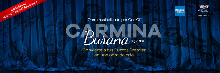 """Experiencia de gala cantata escénica """"Carmina Burana"""""""