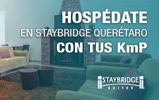 Hospédate en Staybridge Querétaro con Club Premier