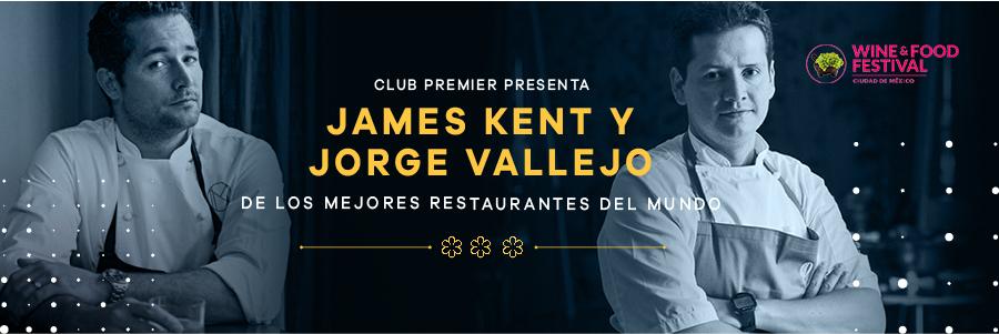 JAMES KENT Y JORGE VALLEJO CON WINE & FOOD
