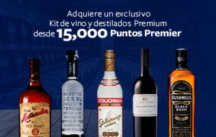 Kit de Vino y destilados PREMIUM