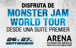 Gana 4 boletos para Monster Jam