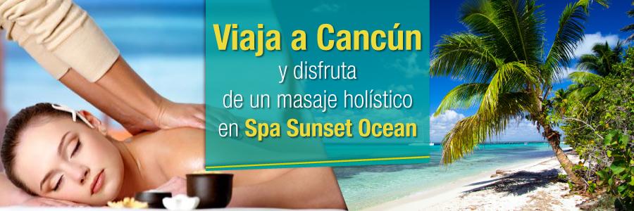 Viaja a Cancún y disfruta de una sesión de spa en pareja