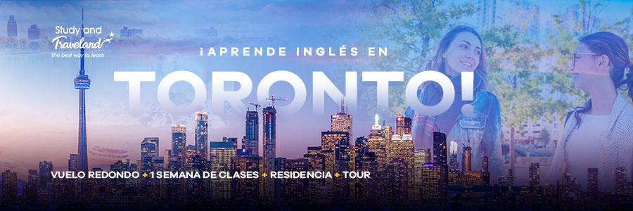Viaja a Toronto, conoce y aprende a hablar inglés