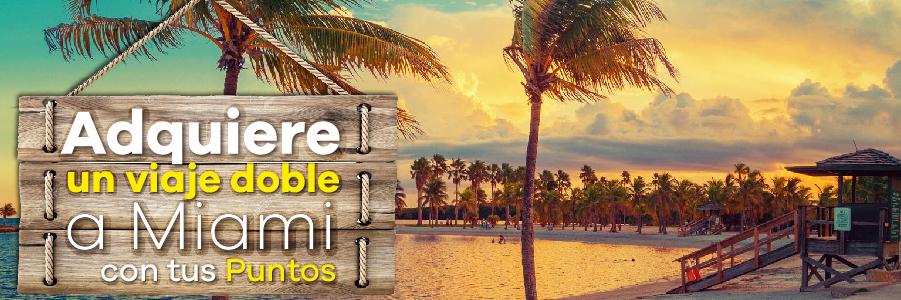 Viaje doble a Miami con Club Premier