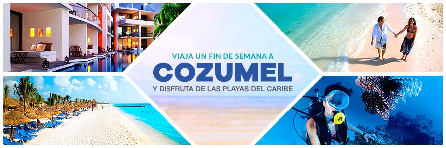 Visita las paradisíacas playas del Caribe con un viaje doble a Cozumel
