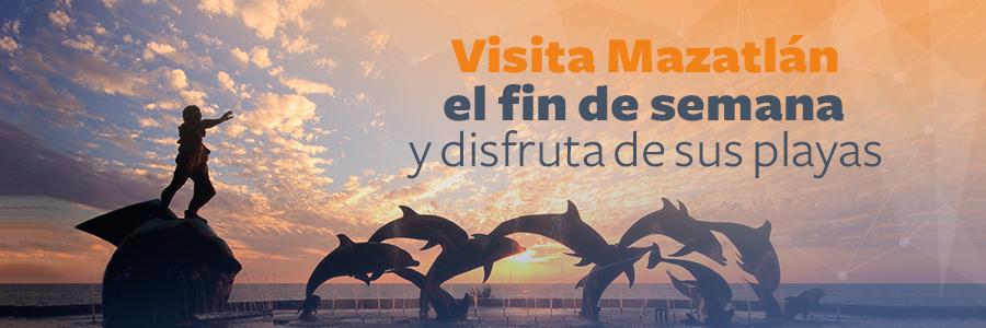 Visita Mazatlán en un viaje doble