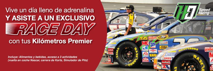 Vive la adrenalina al máximo con Race Day NASCAR