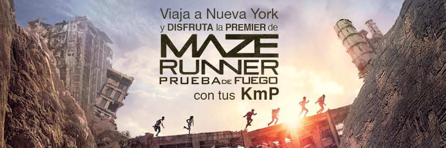 Viaja a Nueva York y asiste a la Premier de Maze Runner