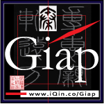 iQin Giap Branding Logo. Small Size Square Format. Image size:150x150px