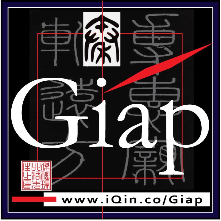 iQin Giap Branding Logo. Large Size Square Format. Image size:720x720px