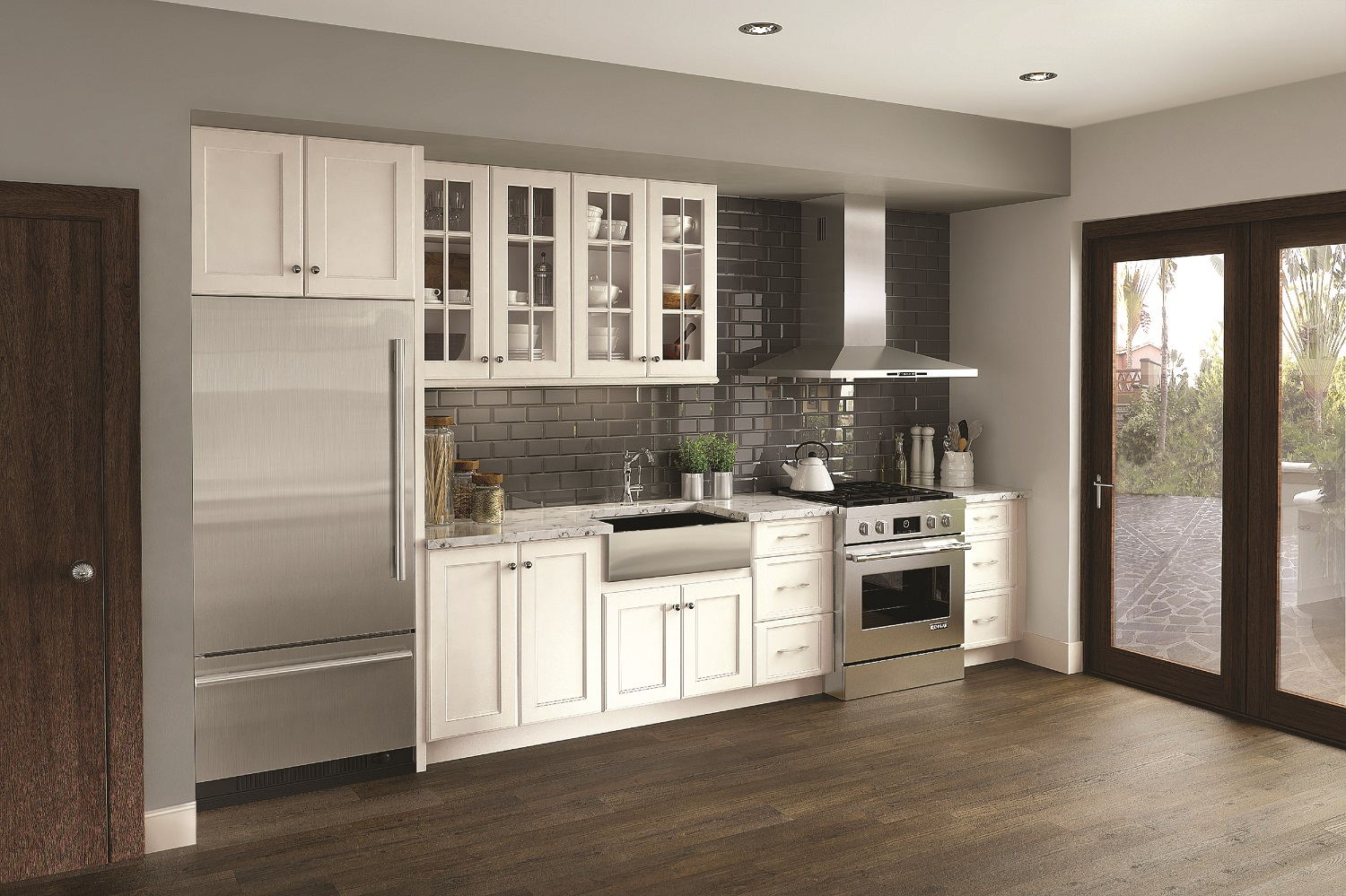 Reagan maple cotton qualitycabinets for Kitchen cabinets quality