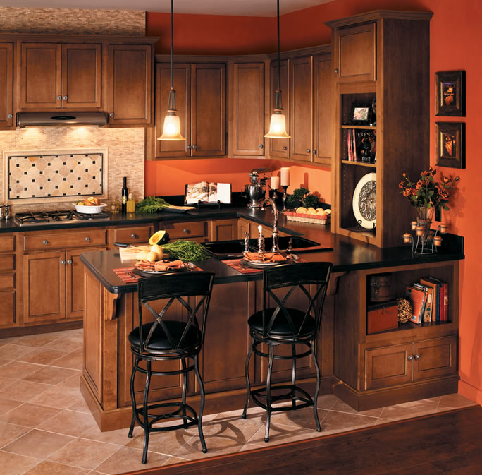 Red Birch Kitchen Cabinets: Quality Cabinets