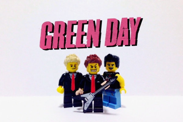 lego green day