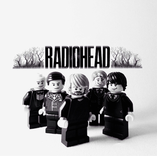 radiohead lego