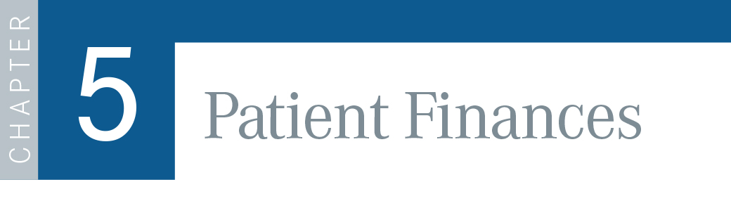 Chapter 5: Patient Finances