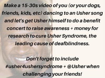 Usher4UsherSyndrome: Dancing for Awareness