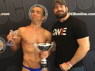 Cerebral Palsy Body Builder Winning More Trophies ... and More Fans