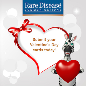 RDR's Rare Disease Valentine's Day Card Contest