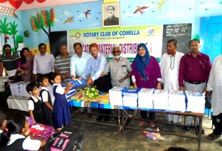 Education Materials distr | Rotary Showcase