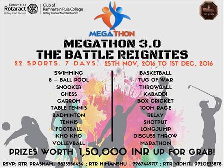 Megathon 3 0 - The Battle   Rotary Showcase
