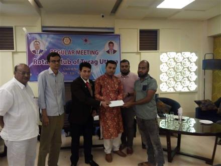 Providing Financial Help Rotary Showcase