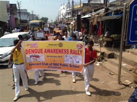 DENGUE Awareness Rally at | Rotary Showcase