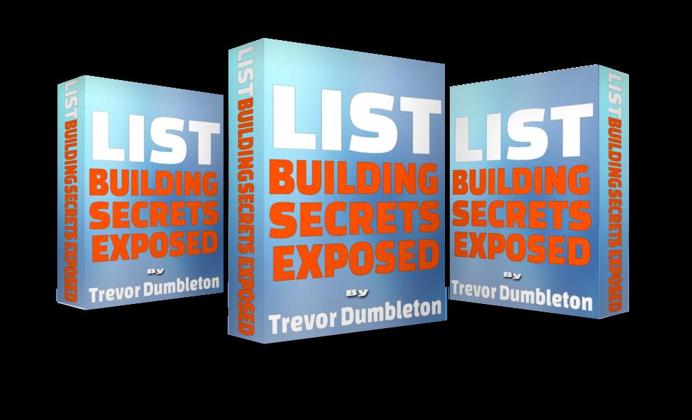 List Building Secrets Exposed